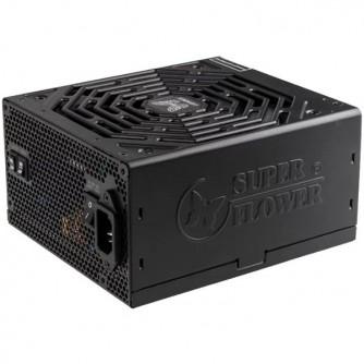Super Flower Leadex II 1000W 80 Plus Gold, 92+ efficiency, LED connectors, Full Cable Management, black, 5y warranty