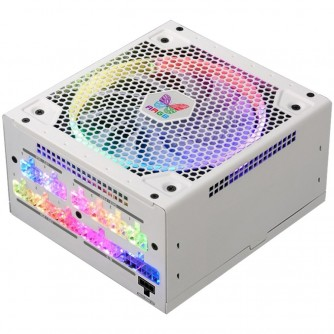Super Flower Leadex III 650W ARGB 80 PLUS GOLD, Full Cable Management, white, 5 years warranty, M/B SYNC