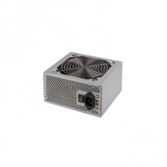 TS Eco Power Supply TrendSonic AC 115/230V, 50/60Hz, DC 3.3/5/12V, 600W, 20+4 pin, 4 x SATA, 2 x IDE, 1XPCIE6P, Cable Length: 450mm, power cable 1.5M incl., 1x120,Efficiency 80%