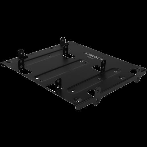 """AXAGON RHD-435 Reduction for 4x 2.5"""" HDD (2x 2.5"""" HDD/SSD & 1x 3.5"""" HDD) into 5.25"""" position, black"""