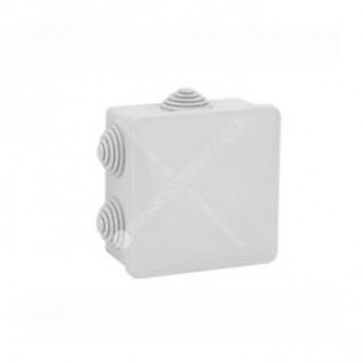 Cable Box for video surveillance, outdoor installation, 80x80mm, IP54.