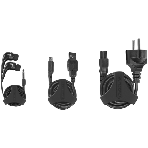 Speedlink MODO Cable Organizer - Size M, 5 clips for peripheral cables, black