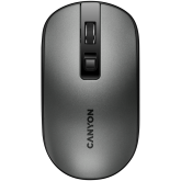 2.4GHz Wireless Rechargeable Mouse with Pixart sensor, 4keys, Silent switch for right/left keys,DPI: 800/1200/1600, Max. usage 50 hours for one time full charged, 300mAh Li-poly battery, Dark grey, cable length 0.6m, 116.4*63.3*32.3mm, 0.075kg