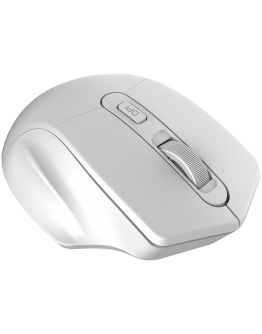 CANYON 2.4GHz Wireless Optical Mouse with 4 buttons, DPI 800/1200/1600, Pearl white, 115*77*38mm, 0.064kg