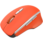 Canyon  2.4 GHz  Wireless mouse ,with 7 buttons, DPI 800/1200/1600, Battery:AAA*2pcs  ,Red 72*117*41mm 0.075kg