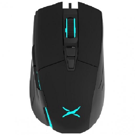 Input Devices - Mouse DELUX DLM-522BU 6400 dpi ,7butt,USB, Black