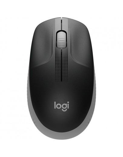 LOGITECH M190 Full-size wireless mouse - MID GREY - 2.4GHZ - EMEA - M190
