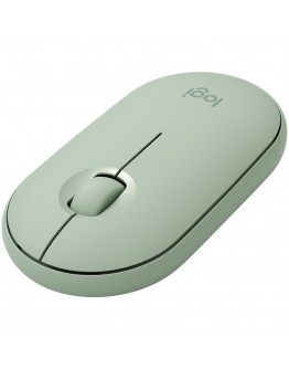 LOGITECH Pebble M350 Wireless Mouse (Eucalyptus)