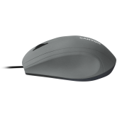 Wired Optical Mouse with 3 keys, DPI 1000 With 1.5M USB cable,Grey,size72*108*40mm,weight:0.077kg