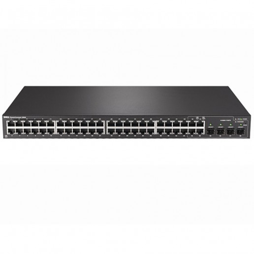 PowerConnect2848 - 48 GbE, 4 SFP Combo Ports, Web Managed Switch(N082848003E)