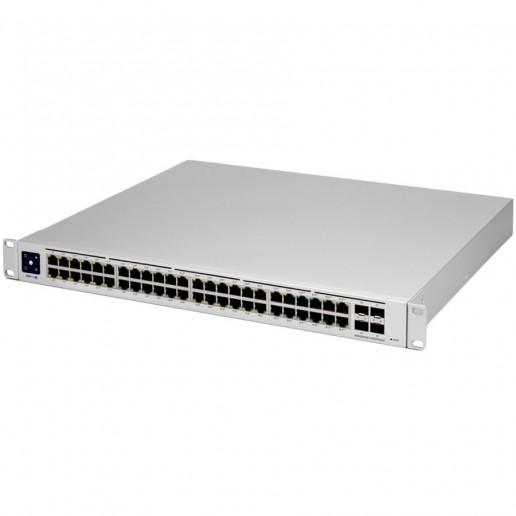 UniFi 48Port Gigabit Switch with 802.3bt PoE, Layer3 Features and SFP+