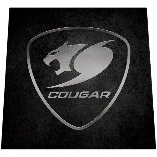 COUGAR Command, Gaming Chair Floor Mat, 1100 x 1100 x 4 mm, hard wearing fabric, Hand wash and dry