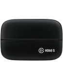 Elgato Game Capture HD60 S, HDMI Input and Output, 2160p30, 1080p60, 1080p30, 1080i, 720p60, 576p, 480p Capture Resolutions, 112x75x19mm, 115g, Plug and Play, 1080p60 HDR Capture, 4K60 HDR 10 Passthrough, Instant Gameview, Flash Recording,