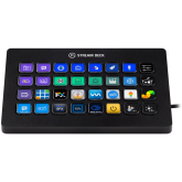 Elgato Stream Deck XL, Studio-Level Control, Time-Saving Integrations, expanded 8x4 grid w/32 LCD keys, Non-Slip Magnetic, Elgato Capture, OBS, Streamlabs, Twitch, YouTube, Twitter, Mixer, Spotify, Philips Hue, NVIDIA, Premiere Pro Icon Pack