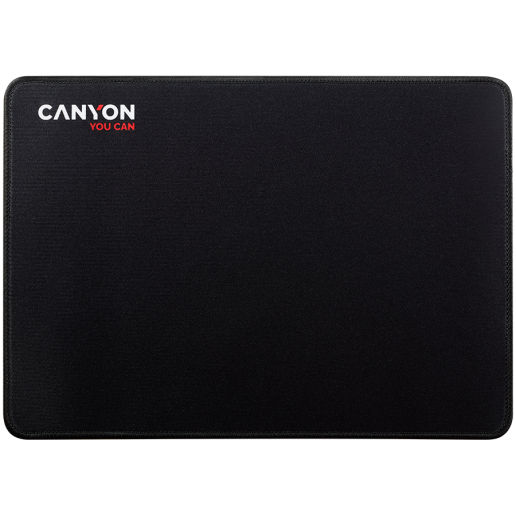 Mouse pad,350X250X3MM,Multipandex ,fully black with our logo (non gaming),blister cardboard