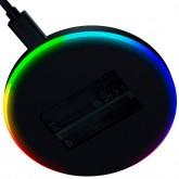 Razer Charging Pad Chroma, 10W Fast Wireless Charger with Razer Chroma RGB, USB-C Female charging port, 10 Chroma enabled RGB LED's