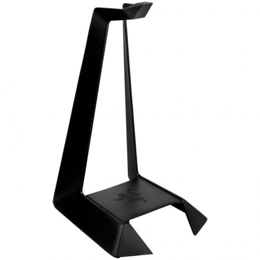 Razer Metal Headset Stand, Made from high-grade robust aluminum, Rubberized anti-slip feet, Accommodates all Razer Headphones (may fit other brands as well), Approximate weight:258g