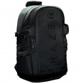 """Rogue Backpack (15.6), Tear proof and water resistant exterior, TPU padded scratch proof interior, Dedicated laptop compartment, Made to fit the Razer Blade and 15.6"""" notebooks"""