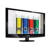 Монитори LCD PHILIPS 191EL2SB (18.5, 1366x768, Светодиод (Подсветка), 2000000:1(DCR), 176/170, 5ms, VGA/DVI) Черен