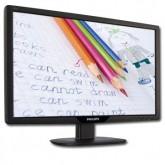 Монитори LCD PHILIPS 191V2AB (18.5, 1366x768, TN, 300000:1(DCR), 176/170, 5ms, VGA/DVI, MM) Черен