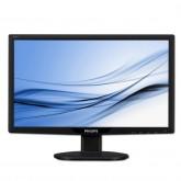Монитори LCD PHILIPS 191V2SB (18.5, 1366x768, SmartContrast, 300000:1(DCR), 176/170, 5ms, VGA/DVI) Черен