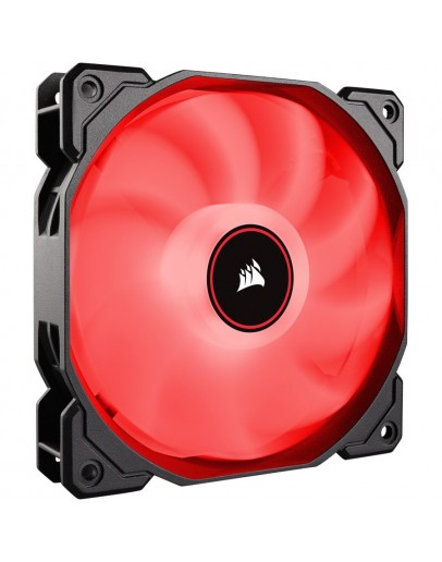 Corsair AF120 LED Low Noise Cooling Fan, Single Pack - Red