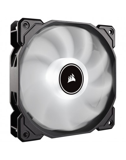 Corsair AF120 LED Low Noise Cooling Fan, Single Pack - White