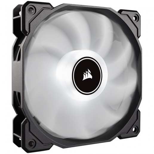 Corsair AF120 LED Low Noise Cooling Fan, Single Pack - White