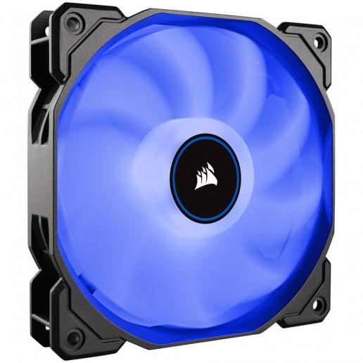 Corsair AF140 LED Low Noise Cooling Fan, Single Pack - Blue