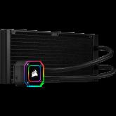Corsair iCUE H115i ELITE CAPELLIX, 280mm Radiator, Dual 140mm ML RGB Fans, Software Control
