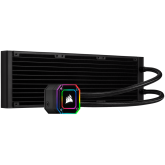 Corsair iCUE H150i ELITE CAPELLIX, 360mm Radiator, Triple 120mm ML RGB Fans, Software Control
