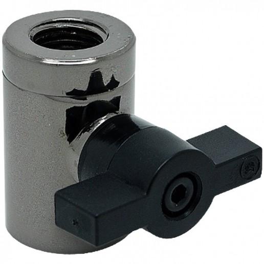 EK-AF Ball Valve (10mm) G1/4 - Black Nickel, adapter fitting