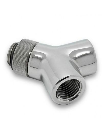 EK-AF Y-Splitter 2F1M-R G1/4 - Nickel