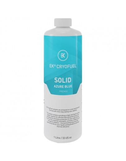 EK-CryoFuel Solid Azure Blue (Premix 1000mL)
