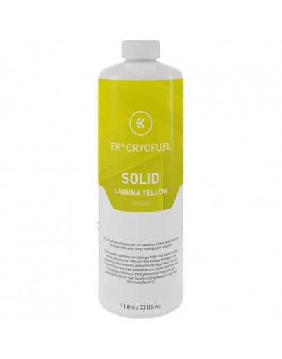 EK-CryoFuel Solid Laguna Yellow (Premix 1000mL)