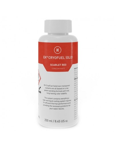 EK-CryoFuel Solid Scarlet Red (Conc. 250mL)