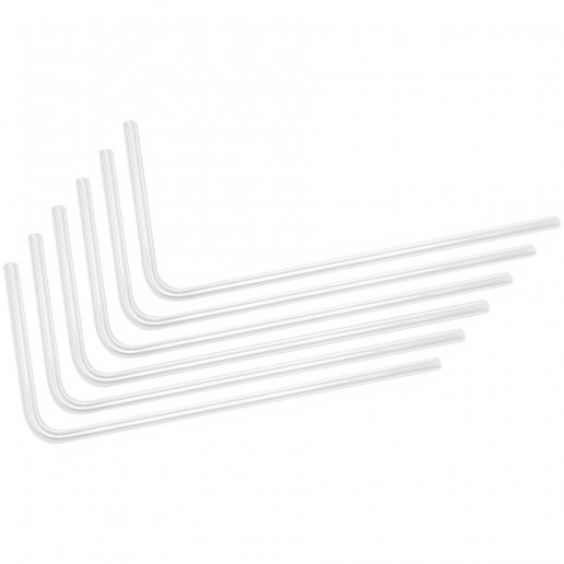 EK-Loop Hard Tube 14mm 0.8m Pre-Bent 90° - Acrylic (6pcs)