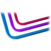 EK-Loop Hard Tube 16mm 0.8m Pre-Bent 90° - Acrylic (6pcs)
