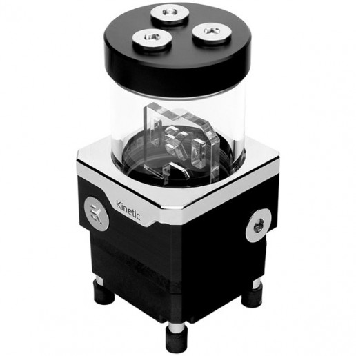 EK-Quantum Kinetic TBE 120 VTX PWM DRGB - Acetal, pump-reservoir