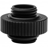 EK-Quantum Torque Extender Static MM 7 - Black, male-threaded extender
