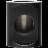 EK-Quantum Torque Splitter 3F T cylinder-shaped adapter fitting - Black