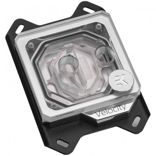 EK-Quantum Velocity RGB - AMD Nickel + Plexi, CPU water block for AMD AM4 socket processors
