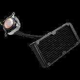 EVGA CLC 240mm All-In-One RGB LED CPU Liquid Cooler, 2x FX12 120mm PWM Fans, Intel Socket LGA20XX/1200/115X/1366, AMD Socket AM2/AM3/AM4/FM1/FM2/TR4