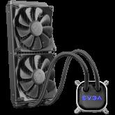 EVGA CLC 280mm All-In-One RGB LED CPU Liquid Cooler, 2x FX13 140mm PWM Fans, Intel Socket LGA20XX/1200/115X/1366, AMD Socket AM2/AM3/AM4/FM1/FM2/TR4