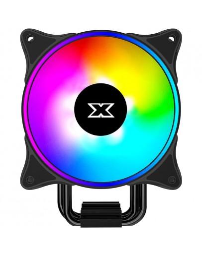 Xigmatek Windpower_WP1264 EN42371; Intel: LGA 2066/2011-v3/2011/1366/115x; AMD: AM4/AM3+/AM3/AM2+/AM2/FM2+/FM2/FM1; TDP 160W; 4 Heatpipes HDT; 120mm AT120 Rainbow PWM Fan