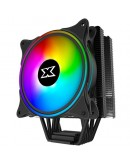 Xigmatek Windpower_WP1266 EN42388; Intel: LGA 2066/2011-v3/2011/1366/115x; AMD: AM4/AM3+/AM3/AM2+/AM2/FM2+/FM2/FM1; TDP 190W; 6 Heatpipes HDT; 120mm AT120 Rainbow PWM Fan