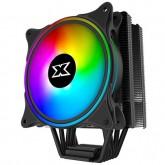 Xigmatek Windpower_WP1266 EN42388; Intel: LGA 2066/2011-v3/2011/1366/115x; AMD: AM4/AM3+/AM3/AM2+/AM2/FM2+/FM2/FM1; TDP 190W; 6 Heatpipes HDT; 120mm AT120 Rainbow PWM Fan