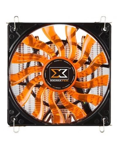 Xigmatek Prodigy ST1266 HDP EN9665,  Intel LGA Socket 775/ 1150/ 1151/ 1155/ 1156/ 2011/ 2011-3/ 2066, AMD AM4/ AM3+/ AM2+/ FM2+/ FM2/ FM1, Φ6mm x6, 1215-PWM fan, 800-1500 RPM, TDP: 150W