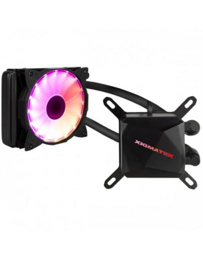 Xigmatek RGB Water Cooling 120mm, Intel: LGA 2066/2011/1366/1156/1155/1151/1150/775, AMD: FM2/FM1/AM4/AM3+/AM3/AM2+/AM2, CH120x1 / Control box 6 port/Remote control, TDP 120W