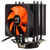 Xigmatek TYR SD964B HDT EN8460, Intel LGA Socket 755, 1150, 1155, 1156, AMD Socket AM2/ AM2+/ AM3/ AM3+/ FM1/ FM2/ FM2+, Universal mounting kit for AMD & Intel, Φ6mm x4 pcs, 90 mm highly efficient PWM fan, 1200-2800 RPM, TDP: 150W